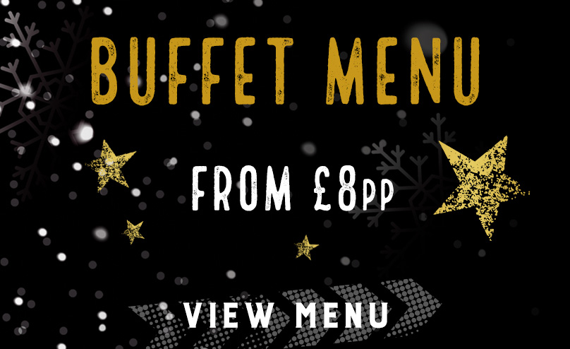 Festive buffet menu at The Piccadilly Tavern