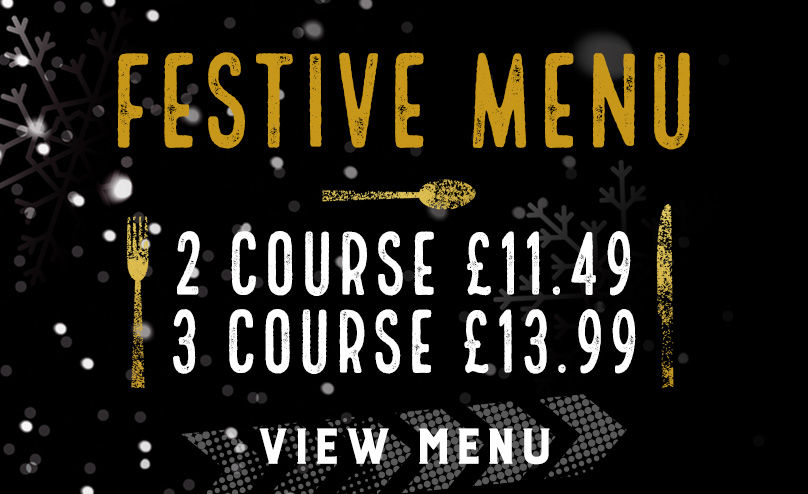 Festive Menu at The Piccadilly Tavern