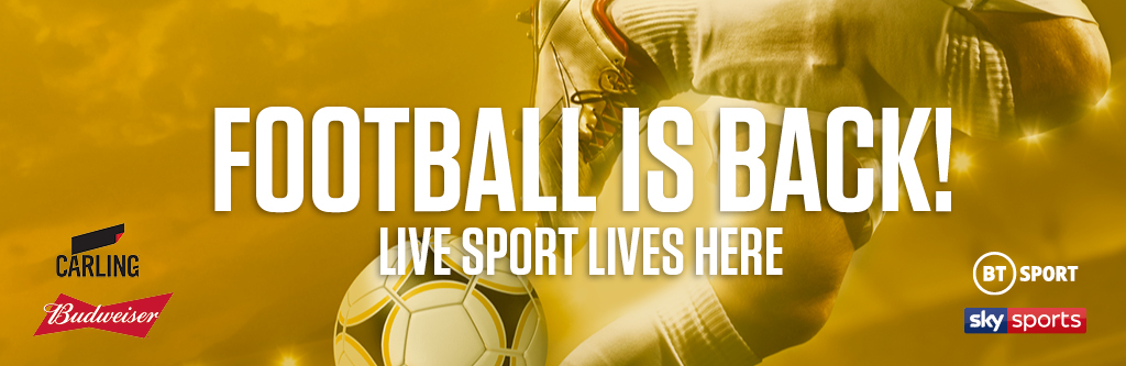 Watch live football at The Piccadilly Tavern