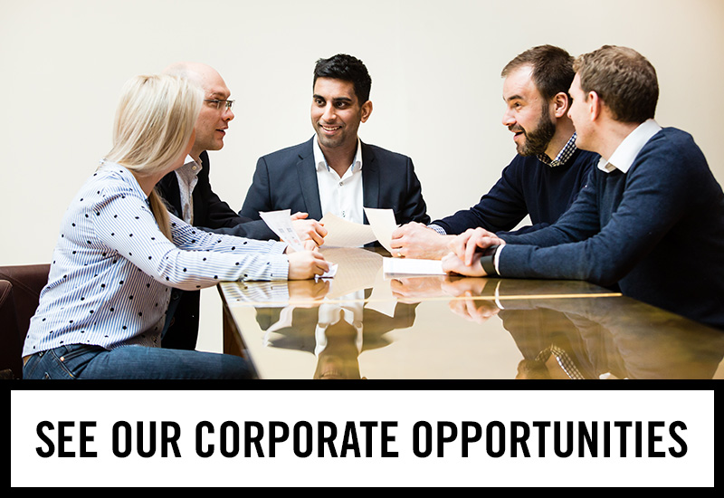 Corporate opportunities at The Piccadilly Tavern