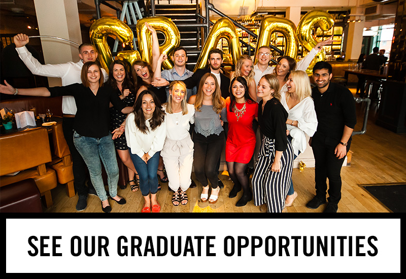 Graduate opportunities at The Piccadilly Tavern