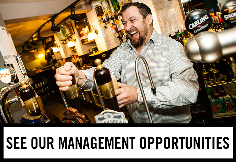 Management opportunities at The Piccadilly Tavern