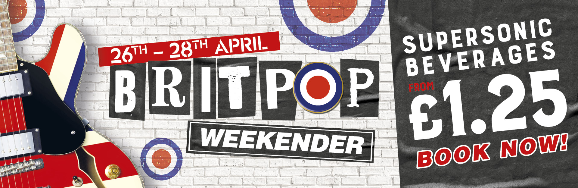 Britpop Weekender at The Piccadilly Tavern