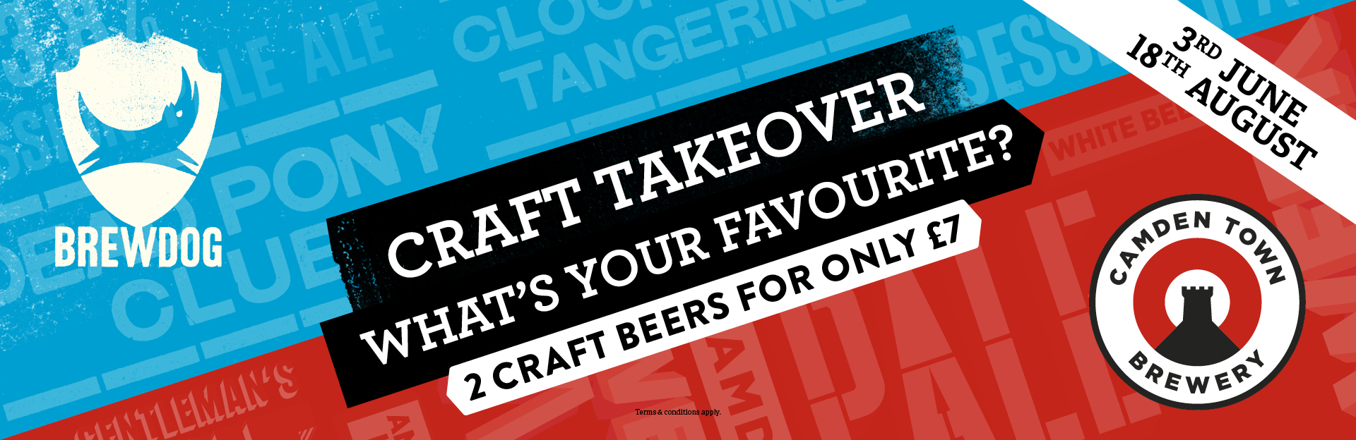 Craft Takeover at The Piccadilly Tavern